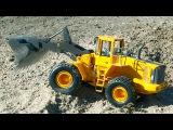 JCB Video for children JCB Bulldozer w Crane and Excavator - Diggers Trucks Cartoon for Kids