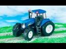 Видео для детей - Синий Трактор едет в Городке! Мультик про Машинки Новые серии