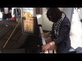 Soundgarden - Black Hole Sun playing on Grand Piano in Paris, Gare du Nord