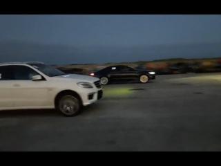 Mazda 6 MPS vs Mercedes-Benz ML 10.06.2017 Драг Рейсинг в Октябрьском