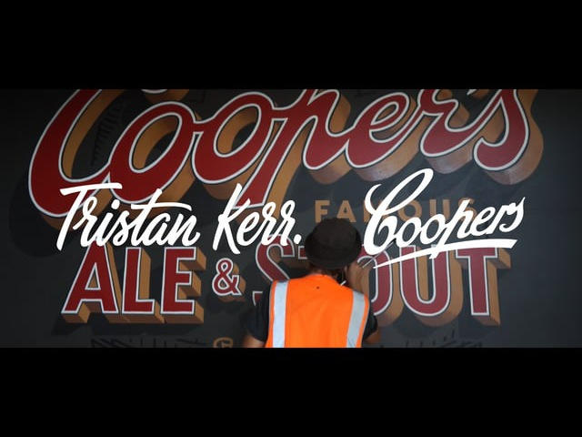 Tristan Kerr x Coopers Brewery