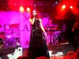 Delain - Frozen (singing Telya from Whyzdom) @ Barcelona - 4/10/09