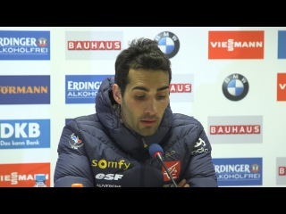 Fourcade, Shupulin and Fillon Maillet after Nove Mesto Pursuit