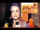 SanayaIrani works as ABP reporter for Kavita Kushiks prewedding Haldi ceremony