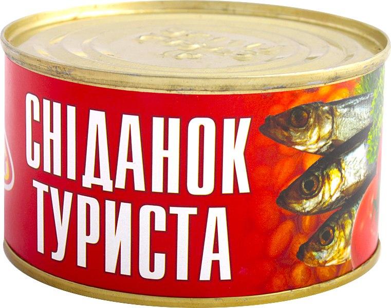 Рибні консерви Сніданок туриста, Достаток, 240 г