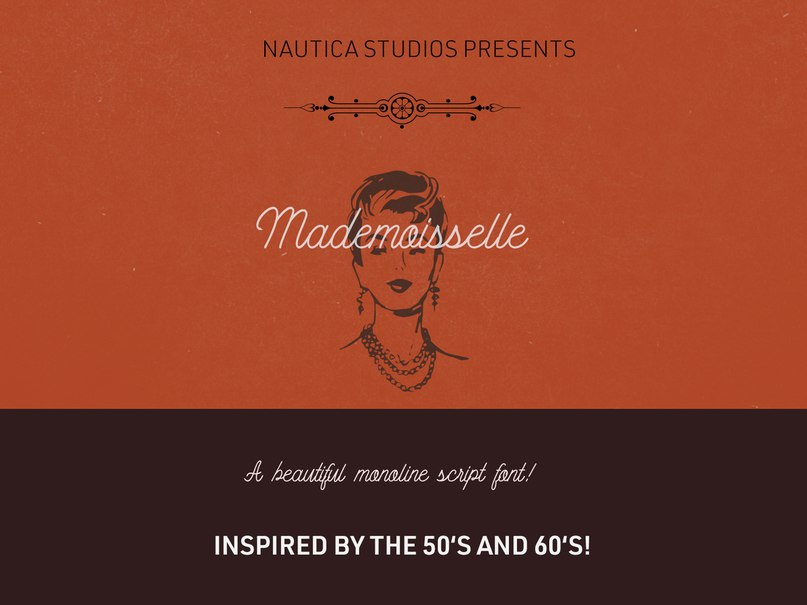 Download Mademoiselle NS font (typeface)