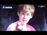 FANCAM 170516 Выступление Park Woo Dam с N'Sync - Pop @ Mnet Official
