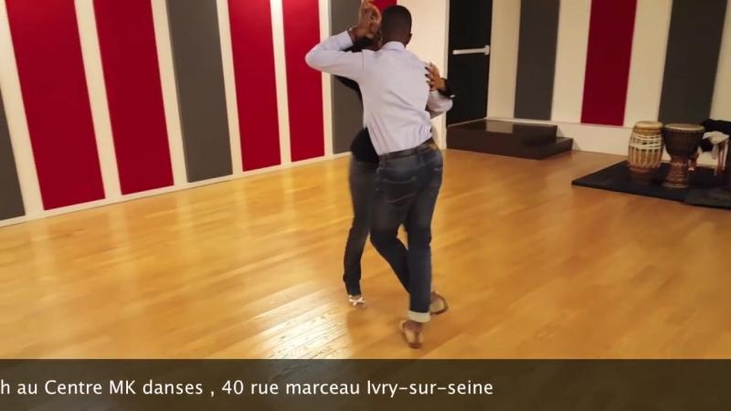 Lolass Pires GATA MORENA Mario Jordâo Laury Esmeralda dancing Kizomba