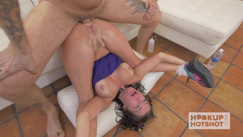 Veronica Avluv - Her Mom Catfished Me! [Teens, Milf, Facial, Blowjob, Deep Throat, Gagging, Sloppy, Spit, Fuck Dildo, Squirt, An