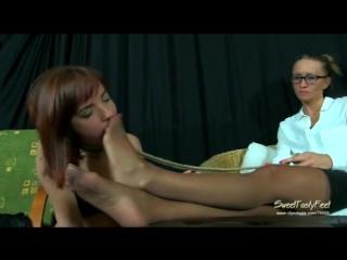 Slave lick nylon feet