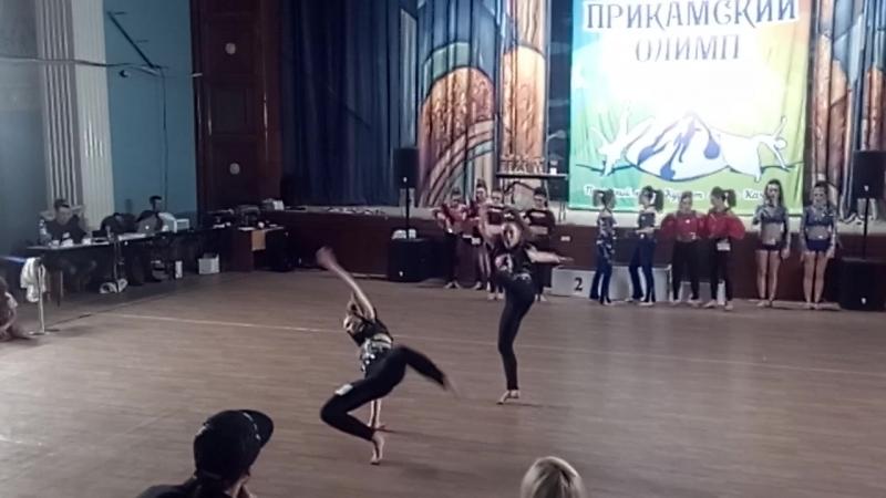 ОК дуэт Ересько Саша и Кочурова Полина
