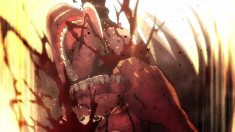 |Anime| Атака титанов 2 | Вторжение гигантов | Shingeki no Kyojin Season 2 12 серия [12 из 12] [Shachiburi]