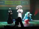 Хиган 2016. Неформат-дефиле групповое 5. Sylf, Keittilin, Ren - Magic the Gathering - Oona the Fairy Queen, Cartel Aristocrat, G
