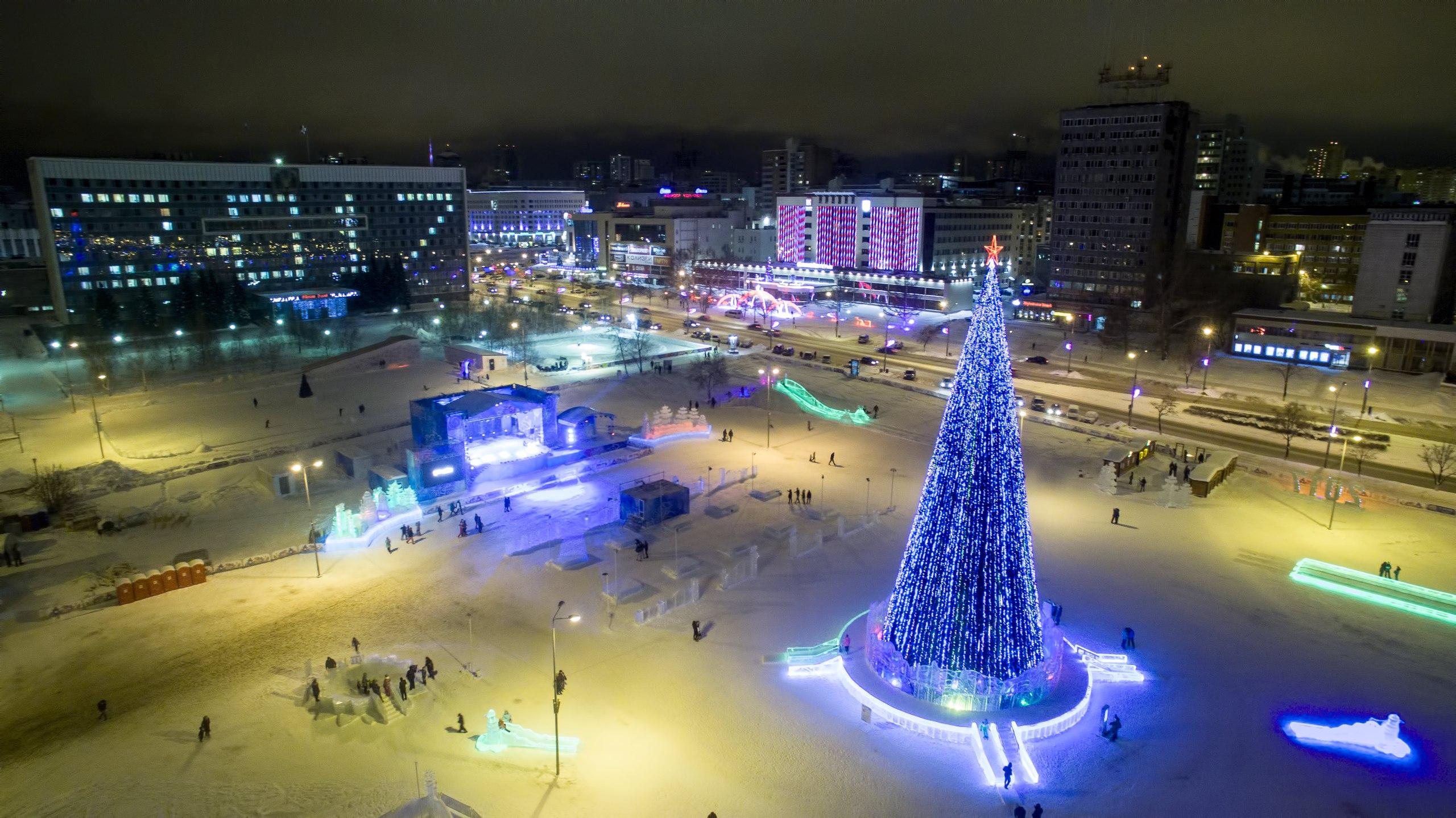 Новогодняя Пермь
