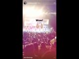 VIDEO 170130 Youngjae @ Elliott Yamin Instagram Story