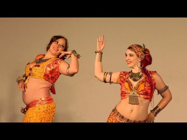 Masha Lys Tatiana Morgetta Sirin Tribe balkan tribal fusion@Tribal for cats fest Kaliningrad