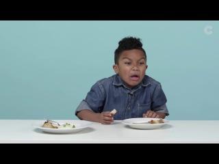 Дети пробуют еду из Франции / Kids Try French Food (Русская Озвучка)