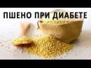 Пшено и пшенная каша при сахарном диабете