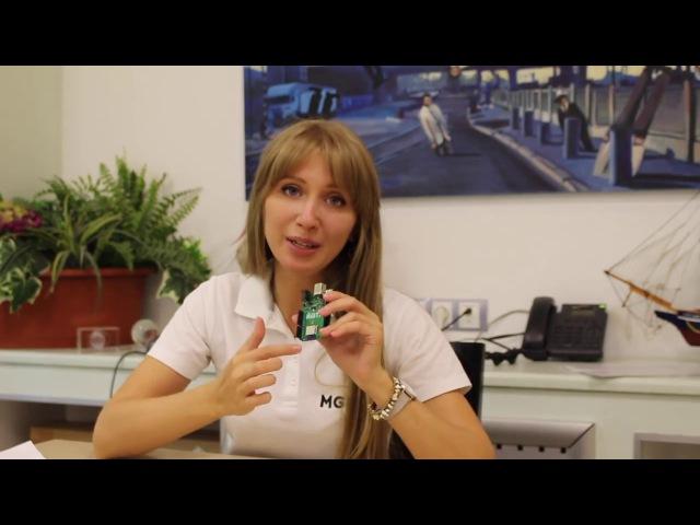 Аня собирает набор IoT на плате ЙоТик