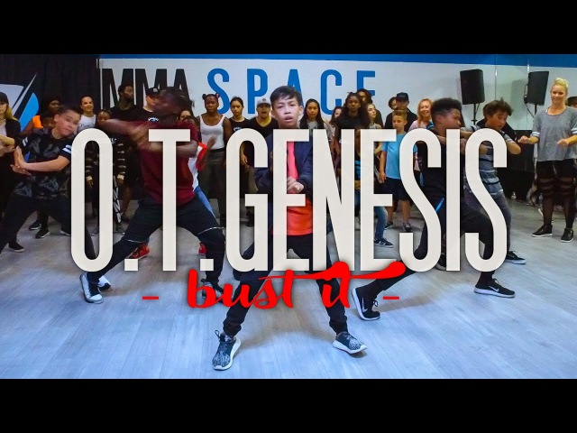 O.T. Genasis - Bust It   Phil Wright Choreography   Ig : @phil_wright_