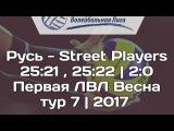 Русь - Street Players  2521 , 2522  20  БЛВЛ Весна 2017
