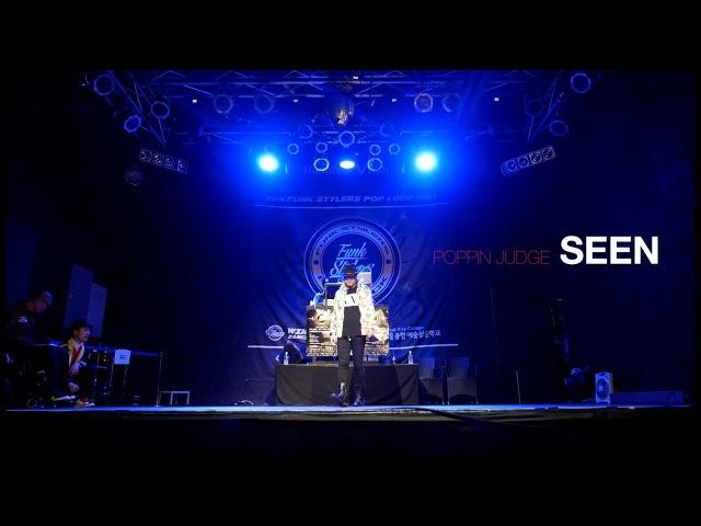 SEEN - Poppin Judge showcase @Funk Stylers Battle 2016
