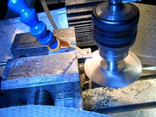 Изготовление неподвижного люнета на токарный станок JET BD 920W