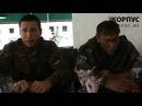Интервью с отважным экипажем БМП 2 26.07.2014 icorpus