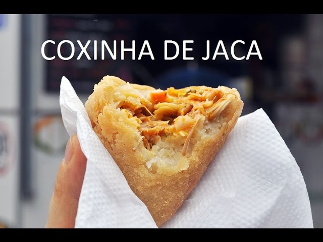 Receita de Coxinha de JACA = Saudável, vegetariana e GOSTOSA!