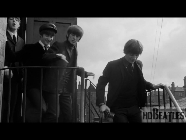 The Beatles Can't Buy Me Love A Hard Day's Night movie London Gatwick Airport Crawley