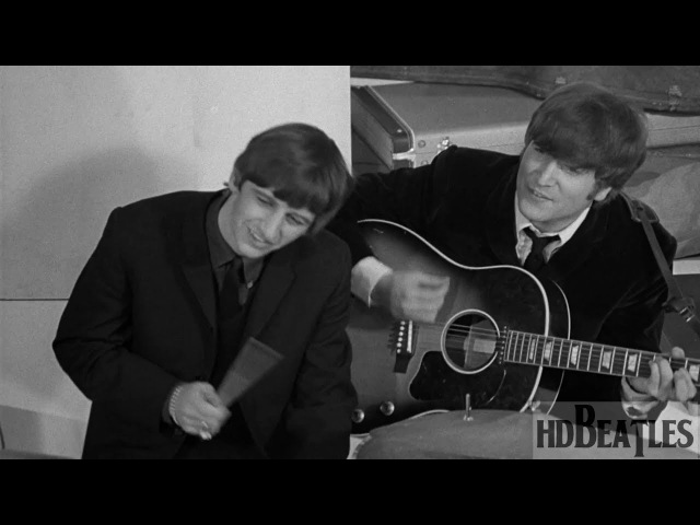 The Beatles - If I Fell [A Hard Day's Night (movie), Scala Theatre, London]