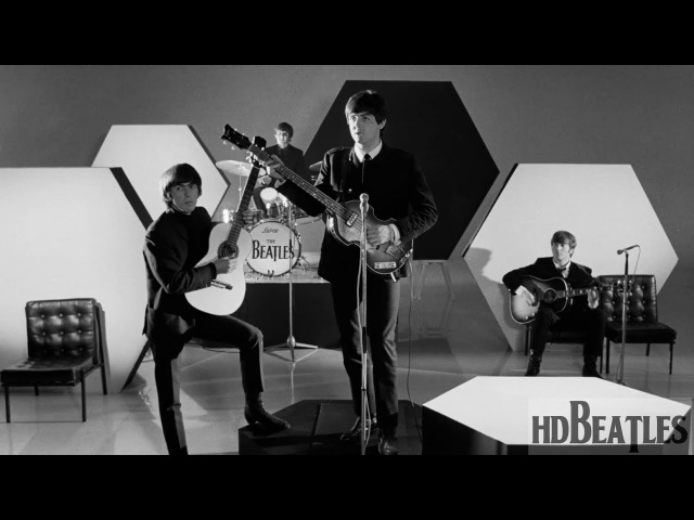 The Beatles - And I Love Her [A Hard Day's Night (movie), Scala Theatre, London]