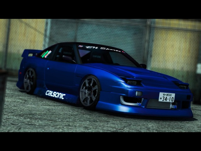 Blue 240sx | Photoshop Tutorial [SLRR]