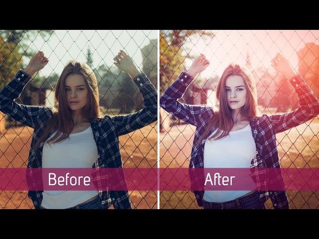 Photoshop CC | Female Portrait Retouching | Tutorial