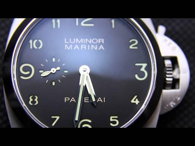 Panerai Radiomir Black Seal Luminor Marina
