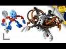 Обзор набора Lego Bionicle 8595 Такуа и Певку (Takua Pewku)