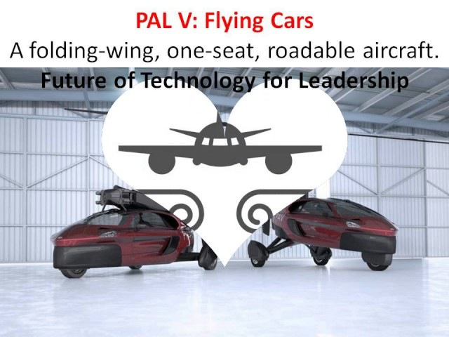 PAL V – Flying Cars or Roadable Aircrafts