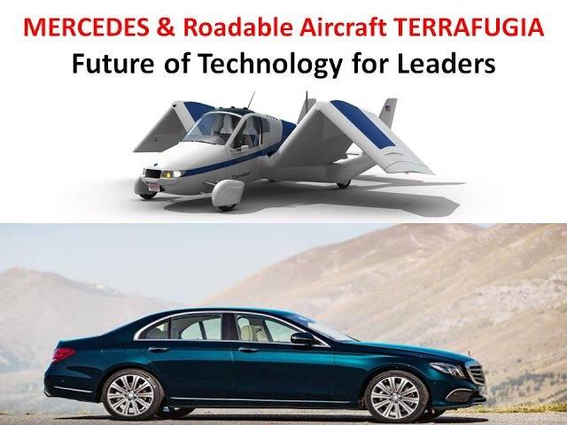 MERCEDES Roadable Aircraft TERRAFUGIA