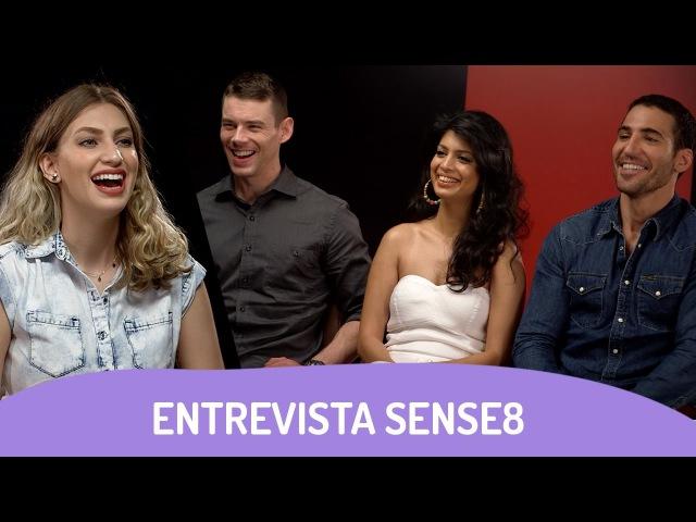 SENSE8 | Entrevista com Tina Desai, Miguel Ángel Silvestre e Brian J. Smith
