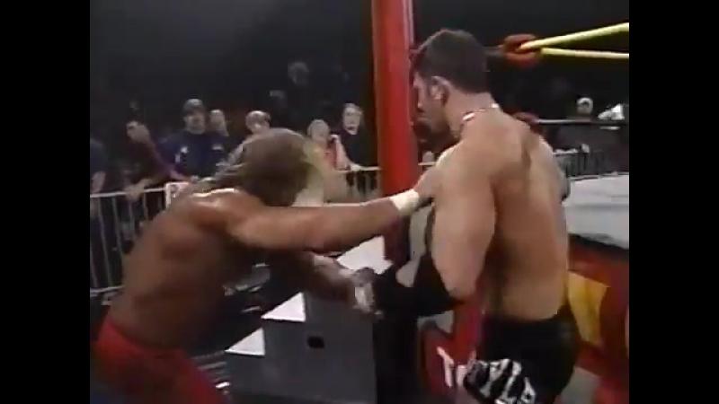 NWA TNA 06.11.2002   ЭйДжей Стайлз (ч) пр. Джерри Линна (матч за чемпионство Х-Дивизиона)