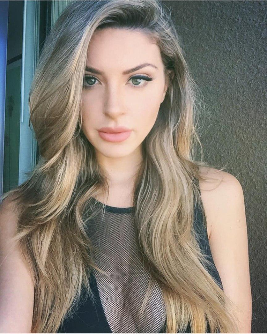 Leila angelic breasty brunette gal getting in