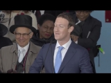 Mark Zuckerberg Commencement Address. I couldn't figure out why no one in class WOULD talk to me...