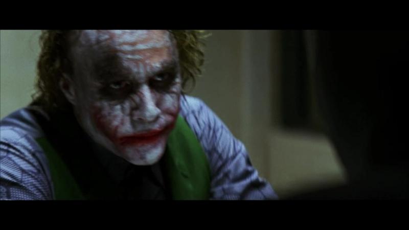 [Любительская озвучка] - Допрос Джокера (Тёмный рыцарь)
