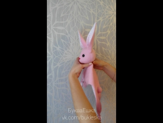 Зайка-комфортер - идеальная игрушка для самых маленьких!