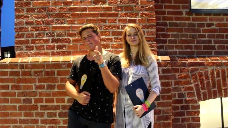 Представление Кураторов. Настя и Паша