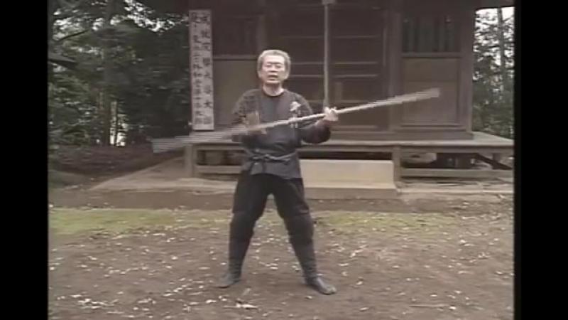 Хацуми Масааки - бо дзюцу