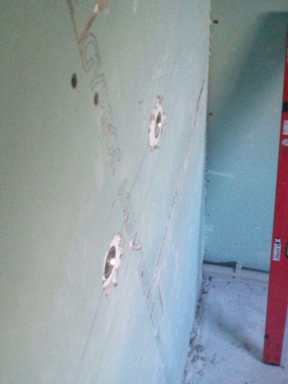 полипропилен внутри стены