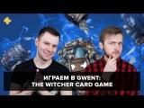 Фогеймер-стрим. Антон Белый и Артем Комолятов играют в Gwent: The Witcher Card Game