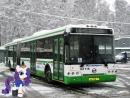 Поездка на автобусе ЛиАЗ-6213.21 № 161116 Маршрут № 768 Москва