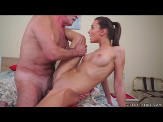 Katy rose - old cock meets young pussy [all sex, hardcore, blowjob, gonzo]
